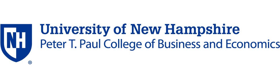 university of new hampshire college of business logo